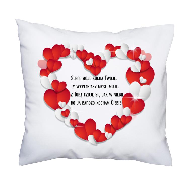 Poduszka Walentynki Walentynki Dzień Ch